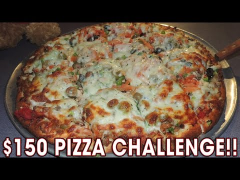 $150 BIG WICK 8LB PIZZA CHALLENGE!!