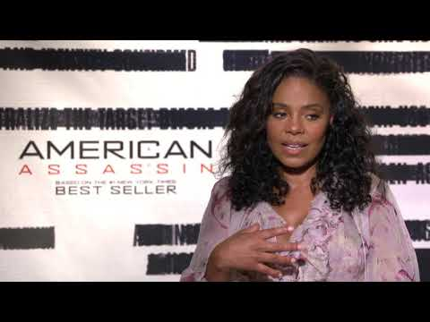 Interview with Sanaa Lathan for American Assassin