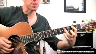 Mr Big - To Be With You Easy Acoustic Guitar Lessons - Free Online Chords & Strumming Song ...