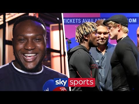 Viddal Riley's instant reaction to the KSI/Logan Paul press conference & spat with Shannon Briggs