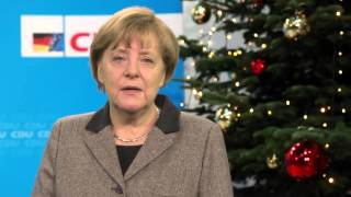 Angela merkel merry christmas