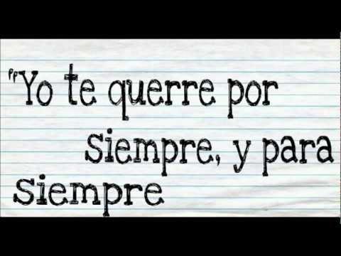 Forever and Always Parachute letra en español