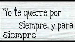 Repeat youtube video Forever and Always Parachute letra en español