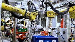 FANUC kollaboratív robottal dolgoznak az Opel Szentgotthárdi gyárában