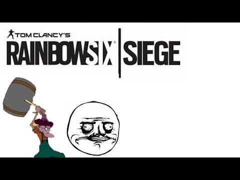 Rainbow Six Siege Funny Moments: THATS IT IM GETTIN ME MALLET
