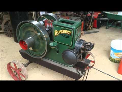 Rosebery Stationary Engine 4hp