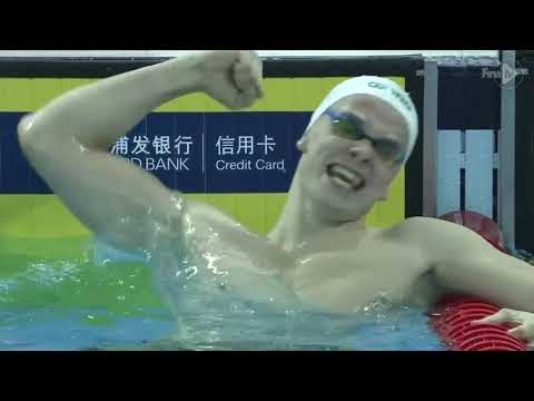 14th FINA World Swimming Championships (25m) Hangzhou, China Men's 400Free & Women's 200 Free