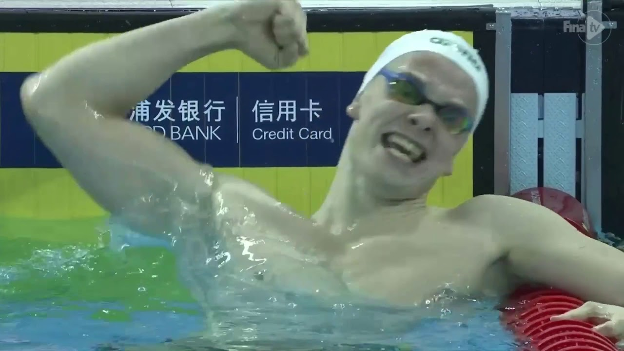 ef4fe88beeb 14th FINA World Swimming Championships (25m) Hangzhou, China Men's 400Free  & Women's 200 Free