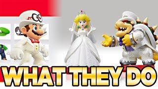 What The New Super Mario Odyssey Wedding Amiibo Do!   Austin John Plays