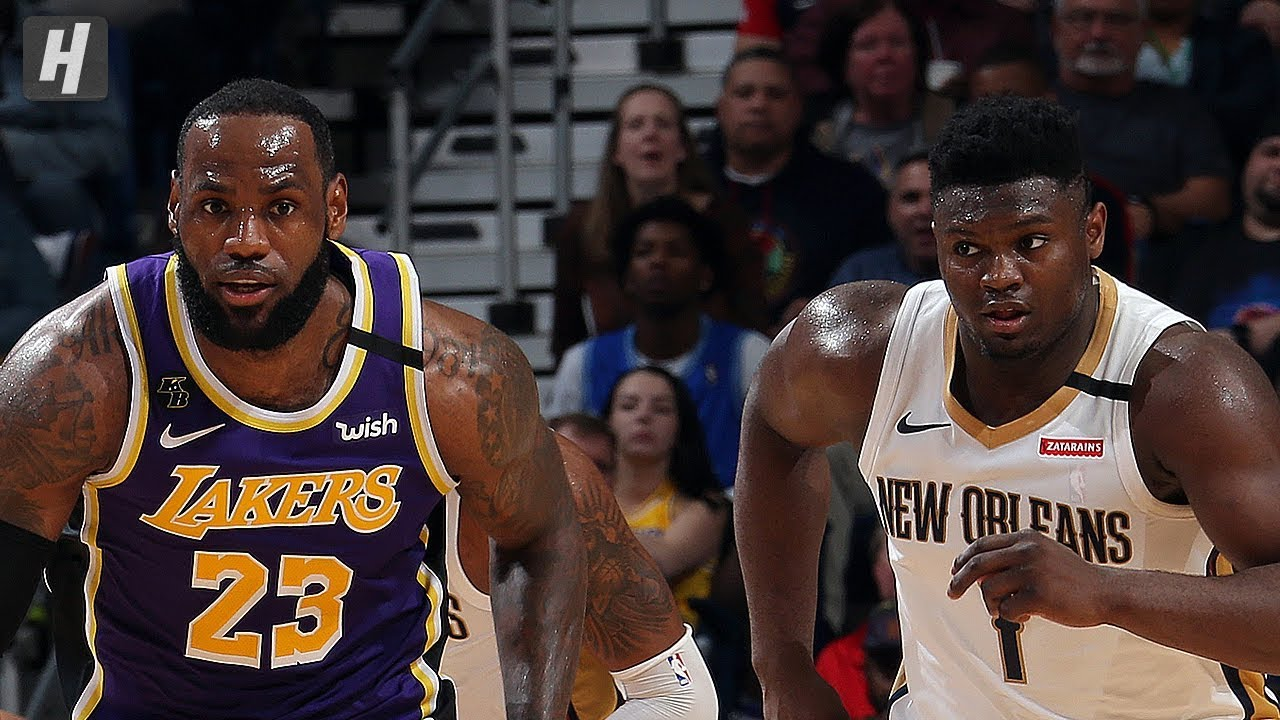 Los Angeles Lakers Vs New Orleans Pelicans Full Game