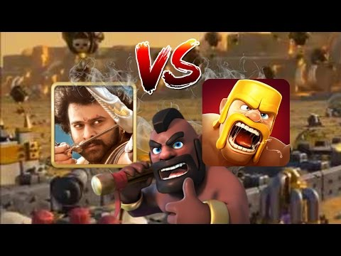 Clash Of Clans (CoC) Vs Bahubali Game ⚔⚔⚔ | Must Watch