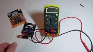 Обзор батареек