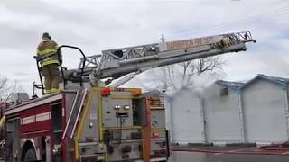 Akron Testing Laboratory and Welding School fire
