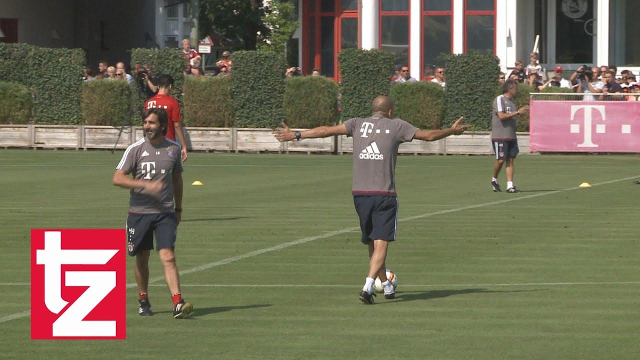 Enfado de Pep Guardiola por un mal pase de Thiago