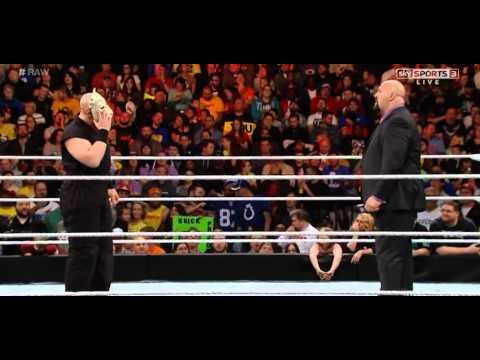 Erick Rowan attacks Big Show - WWE Raw, November 24,...