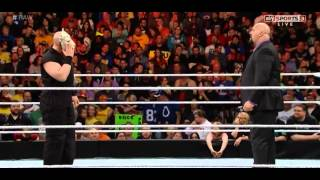 Erick Rowan attacks Big Show - WWE Raw, November 24, 2014
