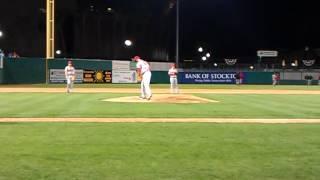 Tyler Skaggs Arizona Diamondbacks Warm Up Minor League Baseball