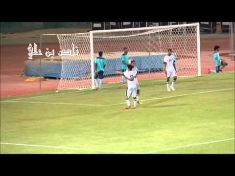هدف شباب المنتخب السعودي الثالث في اولمبي النهضة   سنوسي السنوسي