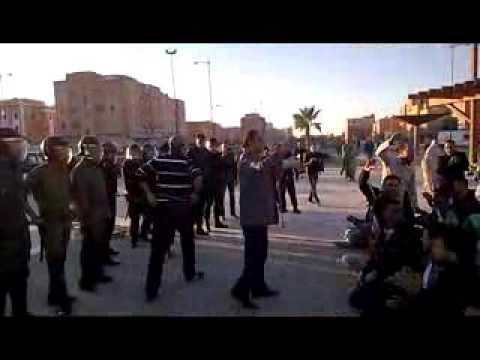 وقفة المعطلين بمدينة العيون اليوم...الصحراء اليومية