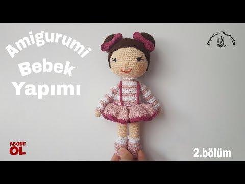 Amigurumi Bebek Yapılışı 2.bölüm  / Amigurumi Baby Making