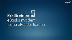 tolino Erklärvideo - Wie kaufe ich ein eBook?