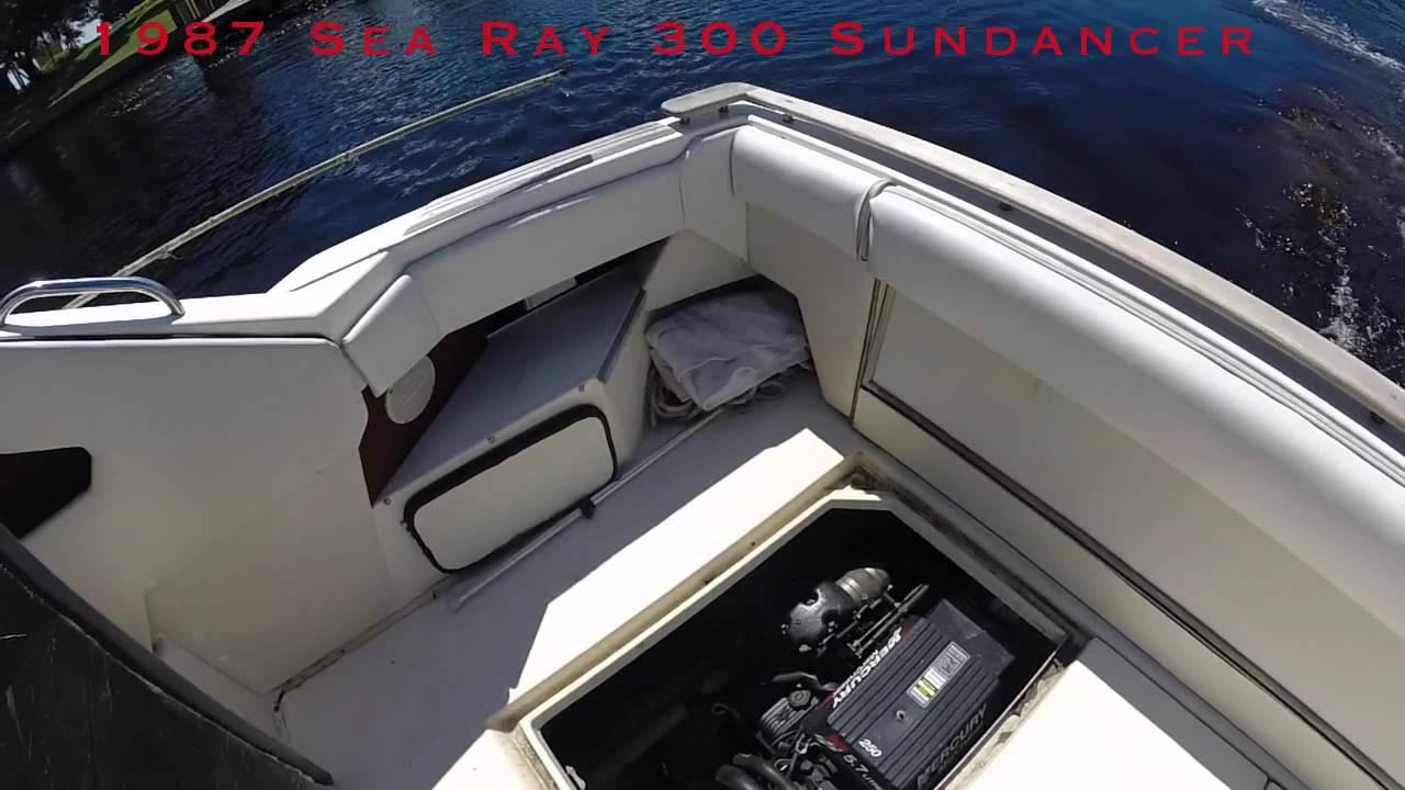 1987 Sea Ray 300 Sundancer VIDEO