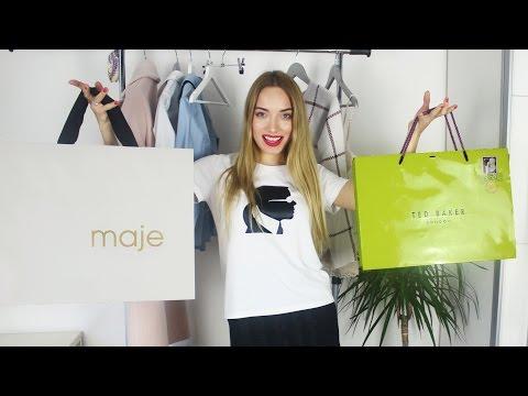 Покупки одежды и обуви Maje, Miu Miu, Ted Baker, Karl Lagerfeld с примеркой и ценами