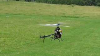 Arducopter Traditional Helicopter