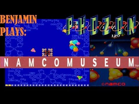 Let's Play: Namco Museum (PlayStation): Phozon