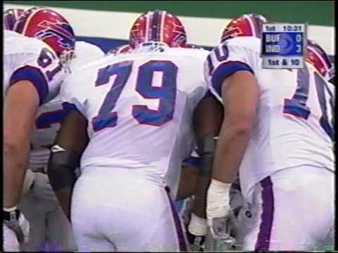 1998 week 6 Bills 1-3 at Colts 1-4 BUF-3