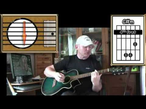 Viva La Vida - Coldplay - Acoustic Guitar Lesson (easy -ish) (detune By 1 Fret)