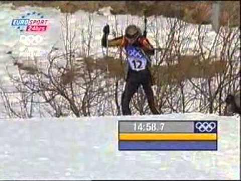 Олимпийские игры 2002, Salt Lake City, биатлон, персьют женщины