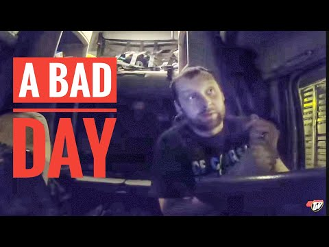 My Trucking Life   ONE STRESSFUL DAY   #1642