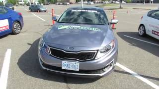 2012 KIA Optima Hybrid Exterior and Interior Carrefour Laval, Quebec, Canada