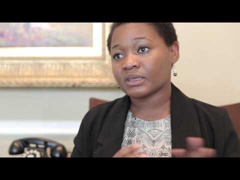 Martine Ekomo-Soignet - Presidential Precinct YALI Video Blog