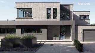 Schüco - Porte d'ingresso in alluminio