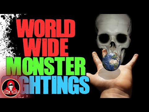5 STRANGE Creature Sightings from Around the World - Darkness Prevails