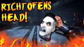 Secret Cut MOB OF THE DEAD Feature! RICHTOFEN'S HEAD Game Mode! Black Ops 2 Zombies Easter Egg Story