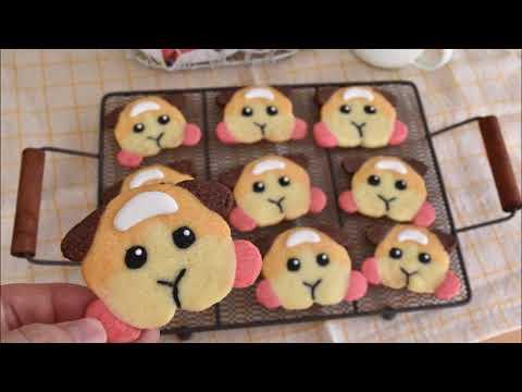 Make Molcar cookies! PUI PUI♪【モルカークッキー作ってみた!】