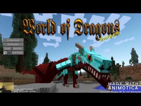 World of Dragons lite Server Hosting Rental   StickyPiston