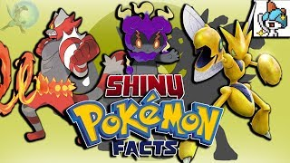20 Interesting Shiny Pokémon Facts