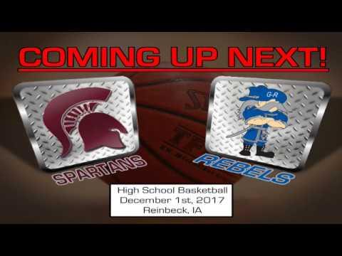 GR vs Grundy Center High School Basketball 12-01-17