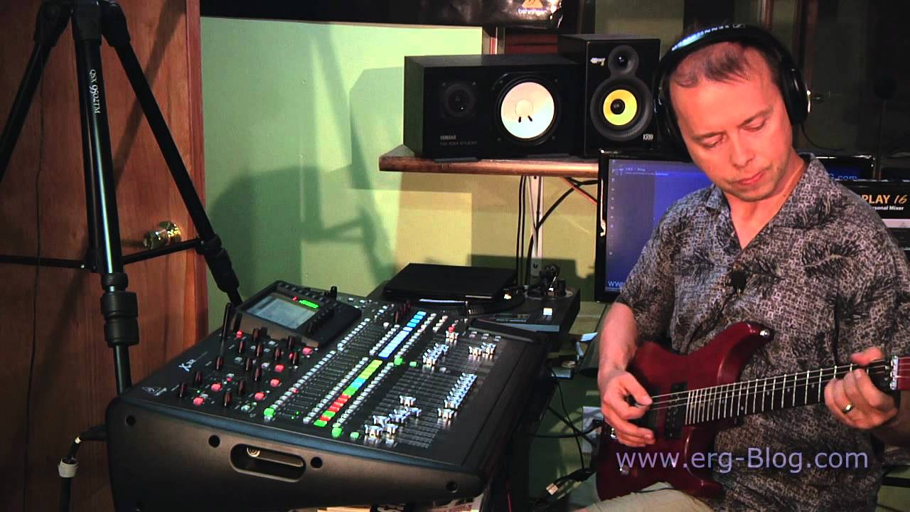 Behringer X32 Review (15) on-board recording USB - YouTube