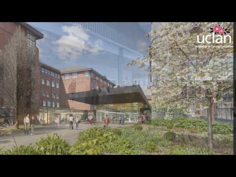 UCLan Masterplan Flythrough 2017