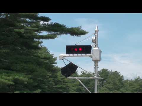 Edaville Railroad Wig-Wag Crossing Signal in High Definition