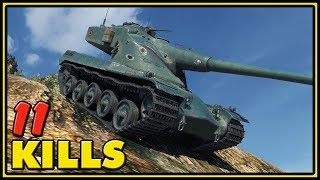 AMX 50 B - 11 Kills - 11K Dmg - World of Tanks Gameplay