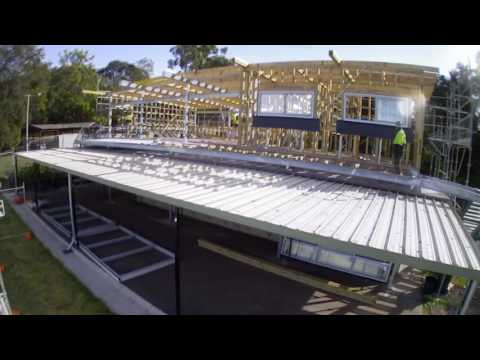 Time Lapse Construction - John Curtin Reserve