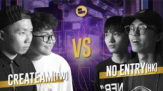Createam (TW) vs Geen Toegang (HK)|TAG TEAM Elimination Azië Beatbox Kampioenschap 2019