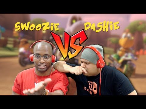 I'VE BEEN CHALLENGED AGAIN!! [SWOOZIE VS DASHIE] [MARIO KART 8 DELUXE]