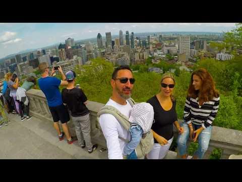 Family Trip Montreal 230517 - Day #1: La Closerie + Parc Mont-Royal